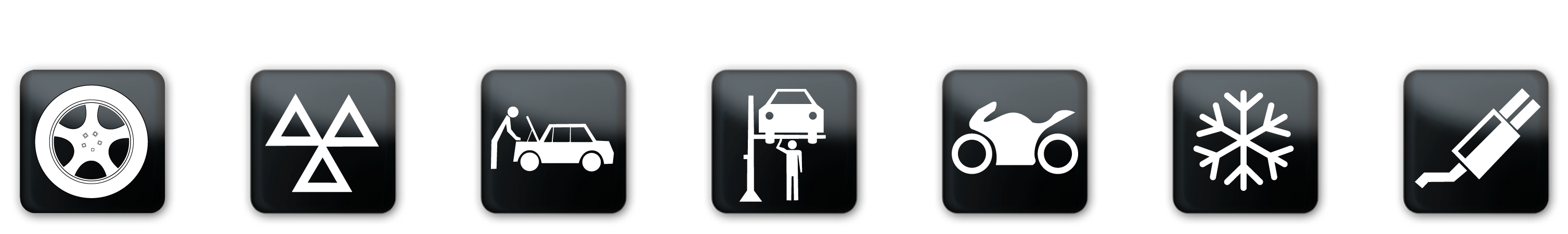 andover tyre auto services icons